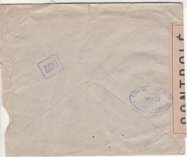 1944 une lettre contrôlée par la censure _5000610
