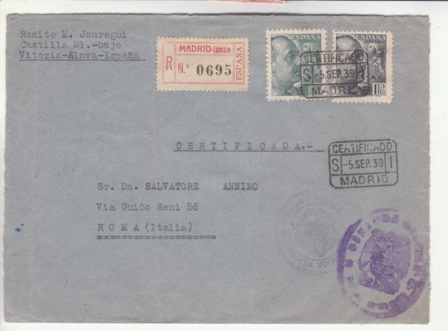 Fiche d'autorisation pour l'exportation de timbres postes en Espagne. _7001611