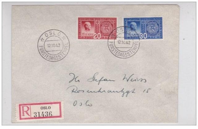 Le Congrès Postal européen de Vienne 1942 et ses conséquences. Congre12