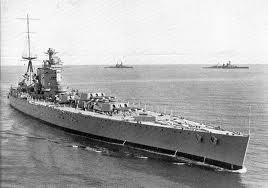 """Batiment de ligne """"Strasbourg"""" à Toulon en octobre 1942. Strasb10"""