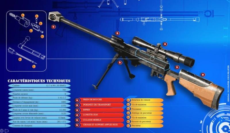 12,7 calibre 50 BMG au camp de Caylus 8° RPIMa Caylus10
