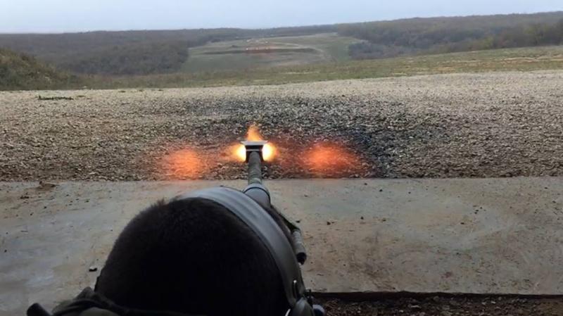 12,7 calibre 50 BMG au camp de Caylus 8° RPIMa Caylus11