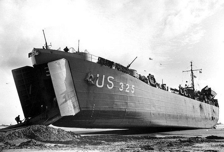 6 juin 1944 Débarquement en Normandie  1lst3210