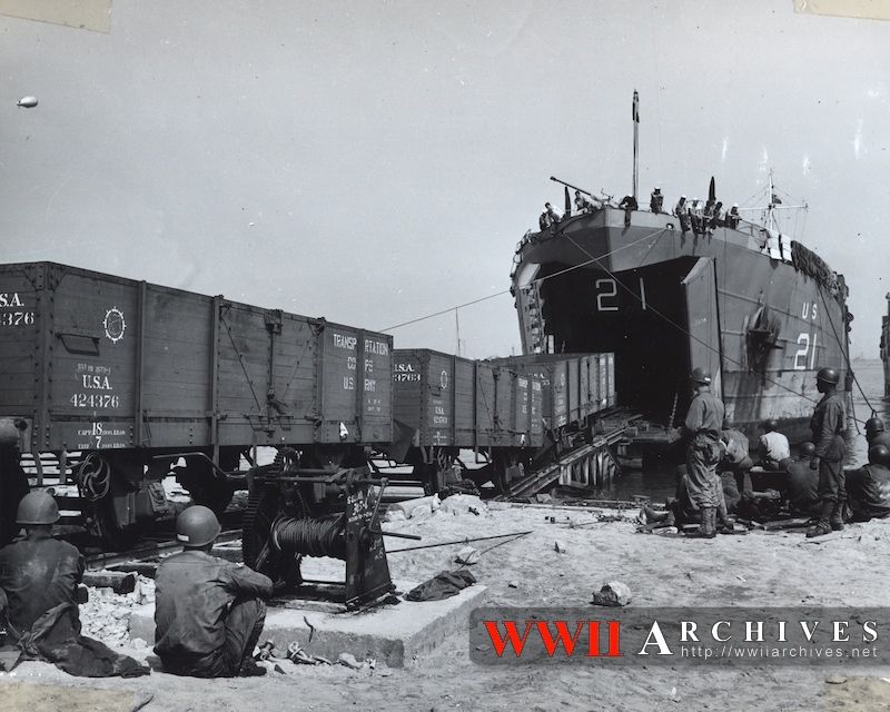 6 juin 1944 Débarquement en Normandie  3lst2110