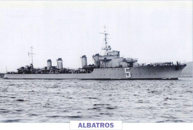 Les contre-torpilleurs français Albatr10