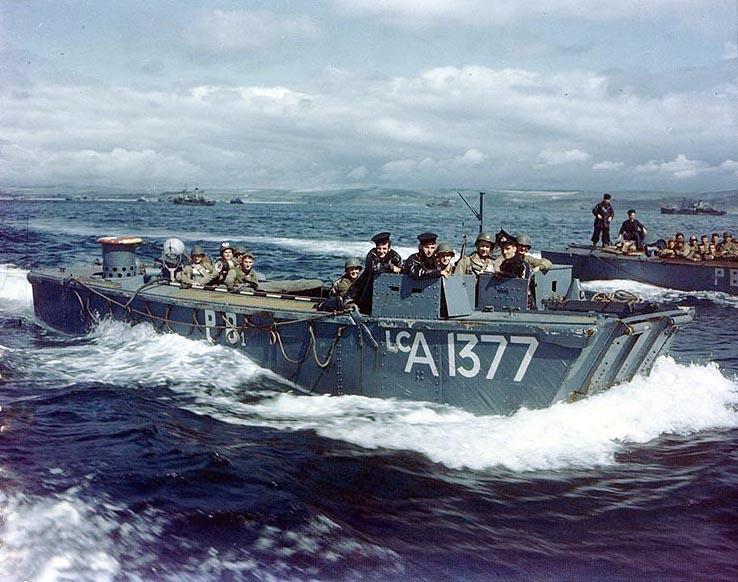 6 juin 1944 Débarquement en Normandie  Britis10
