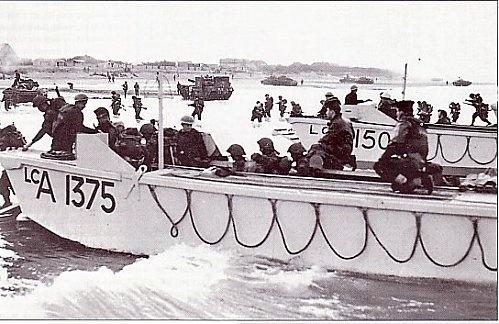 6 juin 1944 Débarquement en Normandie  Lca_7112