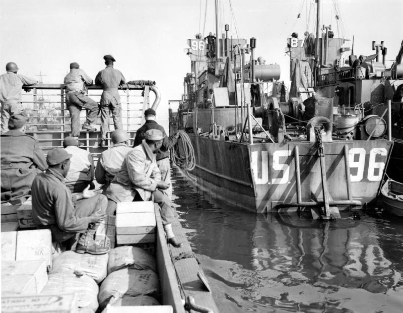 6 juin 1944 Débarquement en Normandie  Lcil_910