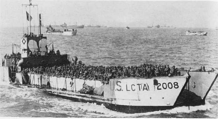 6 juin 1944 Débarquement en Normandie  Lct_mk13