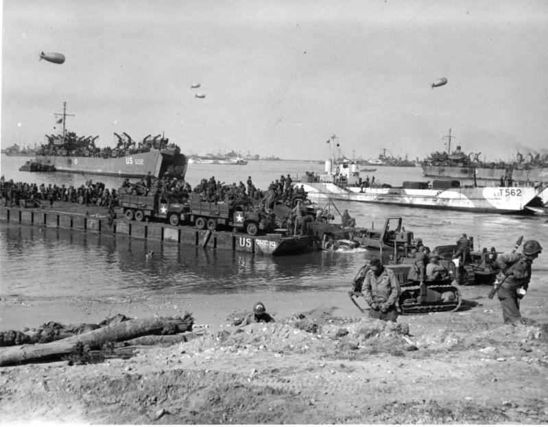 6 juin 1944 Débarquement en Normandie  Lctmk410