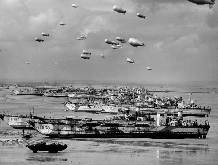 6 juin 1944 Débarquement en Normandie  Lctmk411