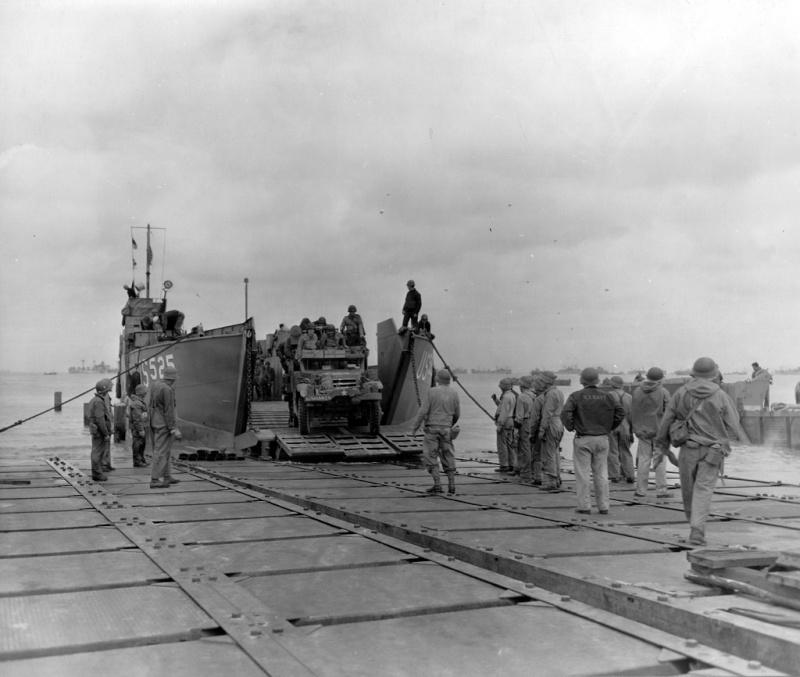 6 juin 1944 Débarquement en Normandie  Lctmk610