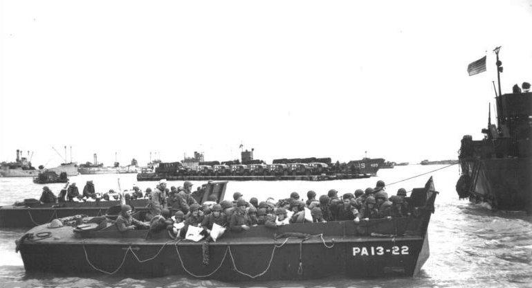 6 juin 1944 Débarquement en Normandie  Lcvp_l11