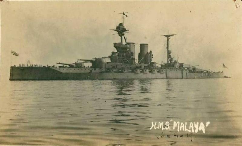CUIRASSES BRITANNIQUES  Malaya10