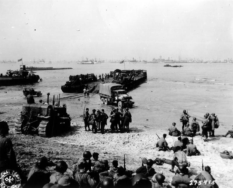 6 juin 1944 Débarquement en Normandie  - Page 2 Omaha_10