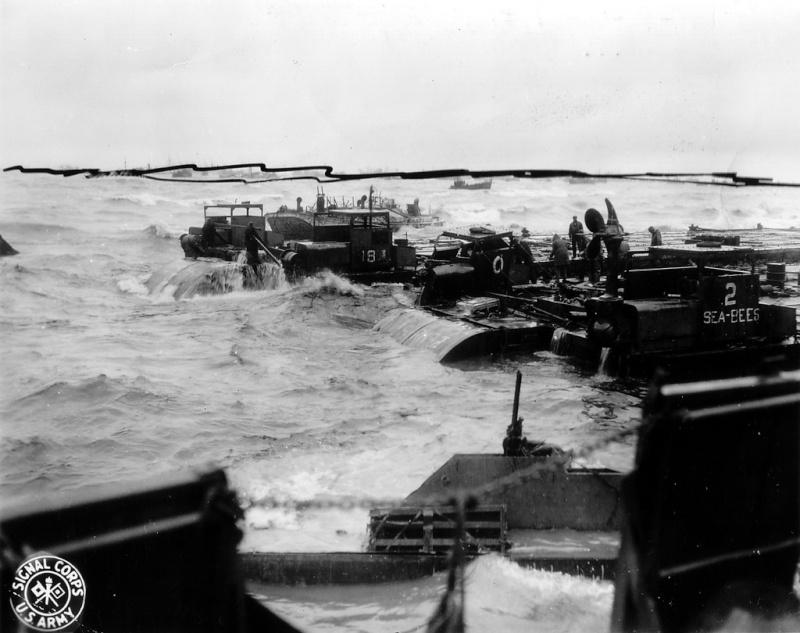 6 juin 1944 Débarquement en Normandie  - Page 2 Tempet11
