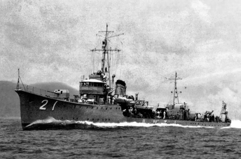 Les problèmes de stabilité des navires japonais de 1931 Tomodz11