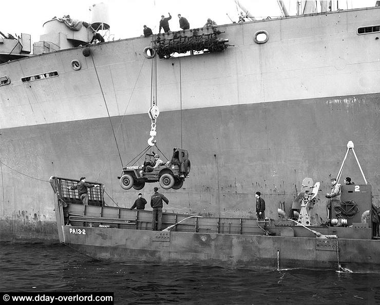 6 juin 1944 Débarquement en Normandie  Uss_jo12