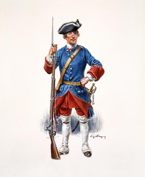 FINI-Troupes Françaises au Canada 1760 Canonn10