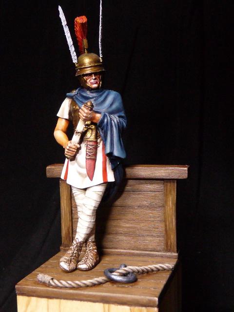 Tribun Romain d'Alexander Miniature. FINI P1060311