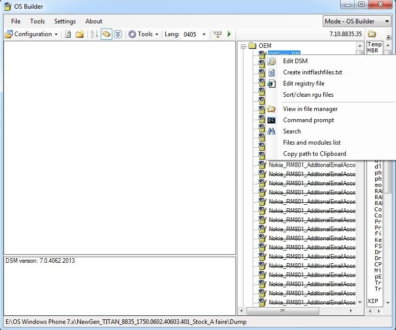 [TUTO] Comment cooker une ROM WP7 (Partie 2 : Maîtrise plus complète, etc...) Dsm-0010