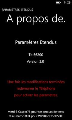 [ROM] Titi66200 New Gen HD2 v2.2 OS 8862.144 & v2.1-v1.6 (Partie 3) Parama23