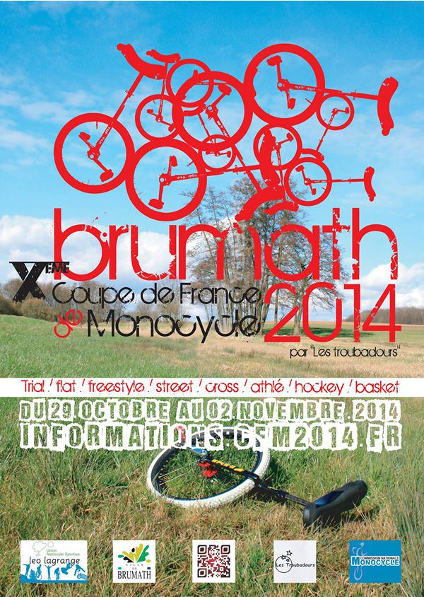 Coupe de france de monocycle 2014 Affich11
