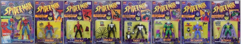 Spider-Man/The Animated Serie (Toy Biz) 1994-1996  Serie_13