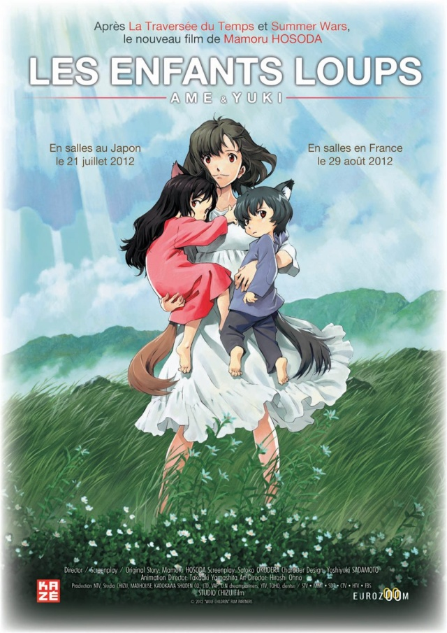 Les Enfants Loups, Ame & Yuki (2012) Okami_12