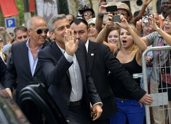 Paris in store Event for Nespresso with George Clooney George11