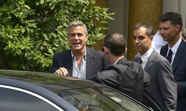 Paris in store Event for Nespresso with George Clooney George12