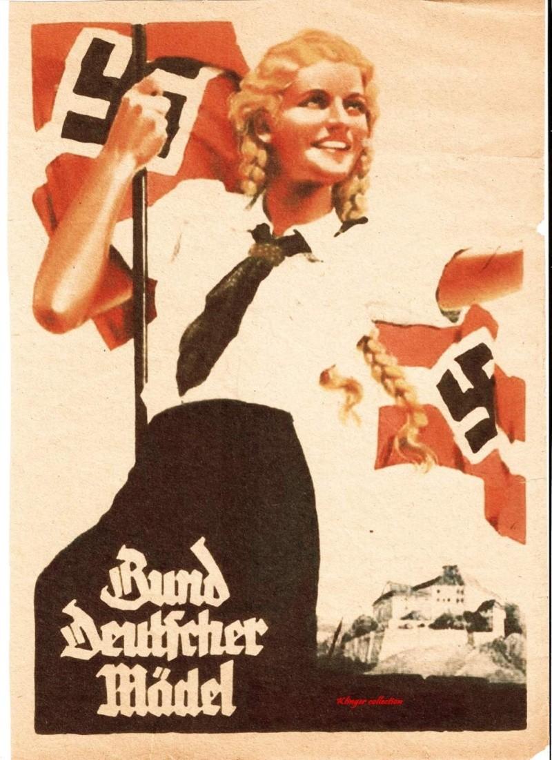 Collection Dorn,en vrac,Hitlerjugend et Bund Deutscher Mädel ... 10698610