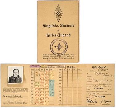 Collection Dorn,en vrac,Hitlerjugend et Bund Deutscher Mädel ... 70866210