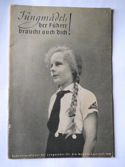 Collection Dorn,en vrac,Hitlerjugend et Bund Deutscher Mädel ... Livret11