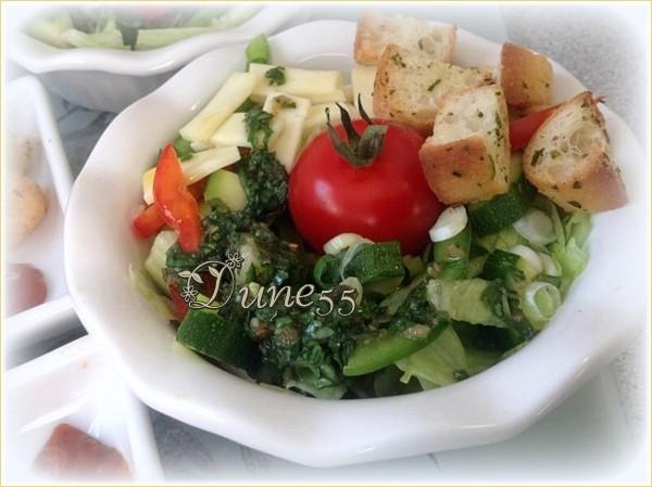 Panzanella (Salade de pain italienne)  Gewwou10