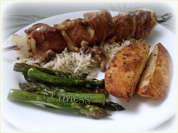 Marinade pour cubes de boeuf (porc-poulet) T3t1pt10
