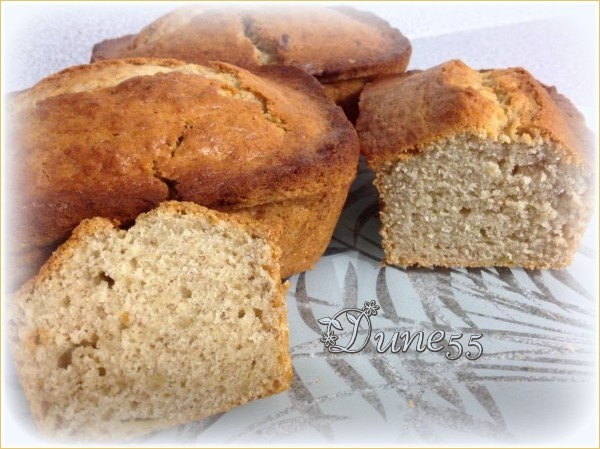 Pain-gâteau aux bananes de maman (Dune55) Wucal310
