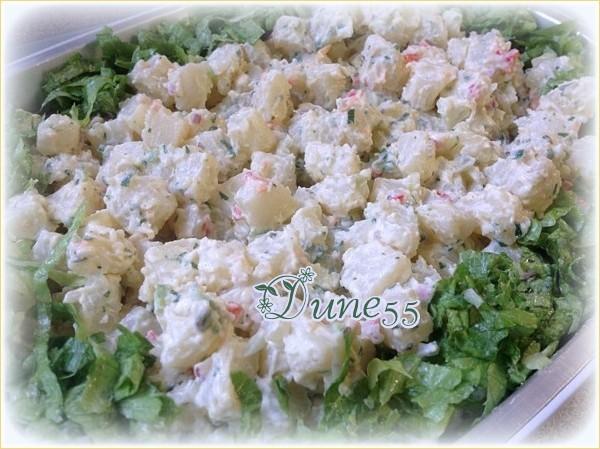 Salade de pommes de terre ... délicieuse Ysawma11