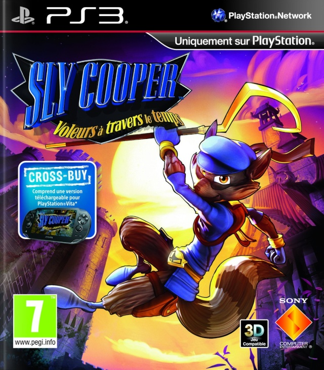 [RECH] multi supports Halo anniversary 360, Sly 4 PS3, Jeux 3DS....... Sly-co10