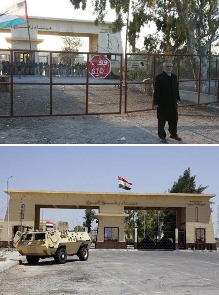 معبر رفح .. باب للحصار  Rafah10