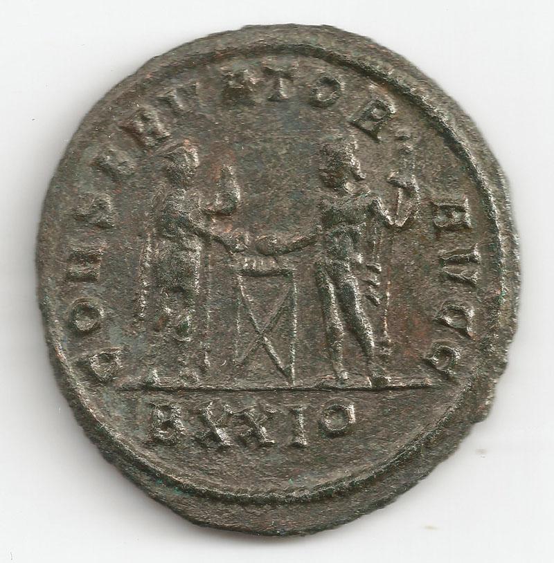 Aureliani pour Trèves de Dioclétien et de ses corégents  - Page 2 Diocly10