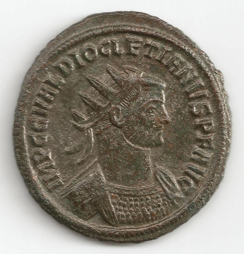 Aureliani pour Trèves de Dioclétien et de ses corégents  - Page 2 Diocly11