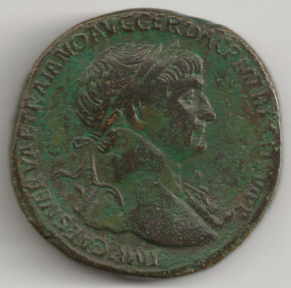 Sesterce de Trajan Trajan16