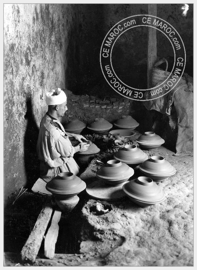 Fez : les potiers et la céramique. 02-16710