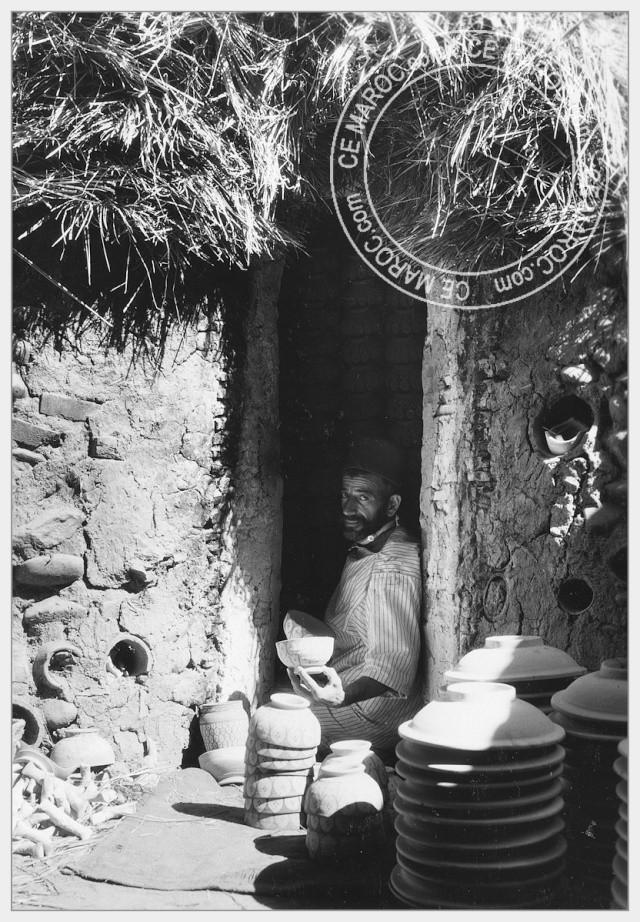 Fez : les potiers et la céramique. 04-16810