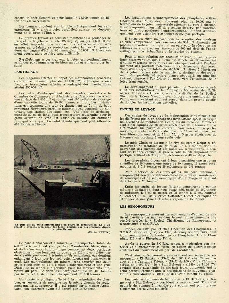 Evolution du Maroc en 1951. 05-sws13