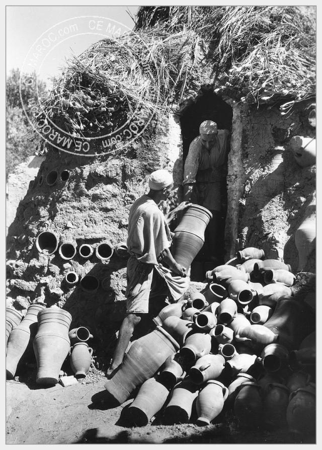 Fez : les potiers et la céramique. 06-16610