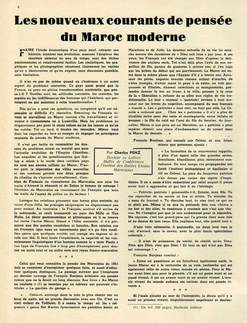 Evolution du Maroc en 1951. 06-sws11
