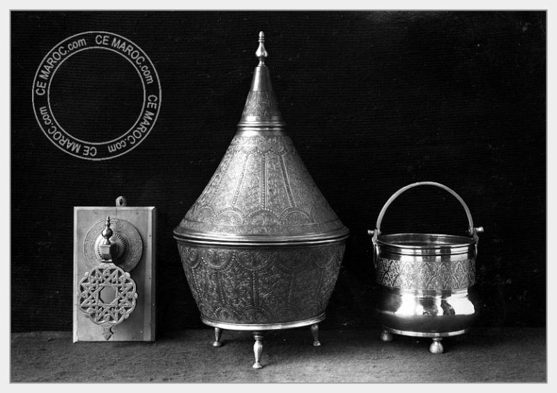 Fez : les dinandiers, les bijoutiers, les tisserands. 07-18610
