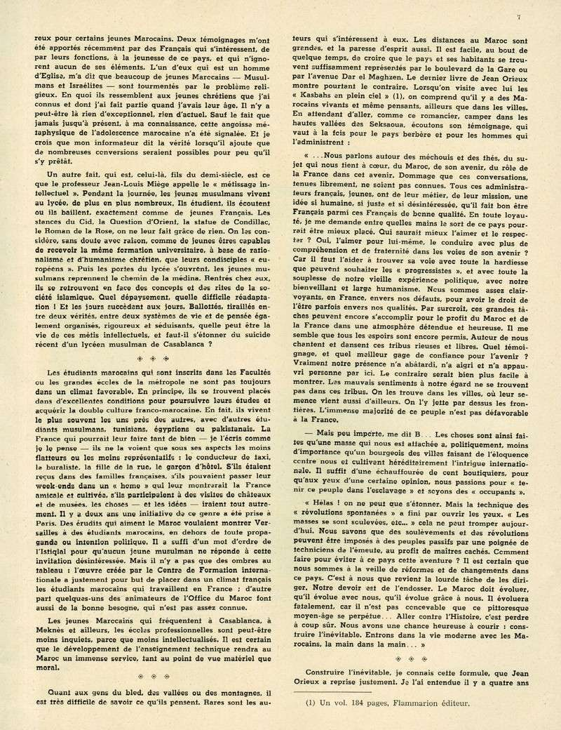 Evolution du Maroc en 1951. 07-sws11